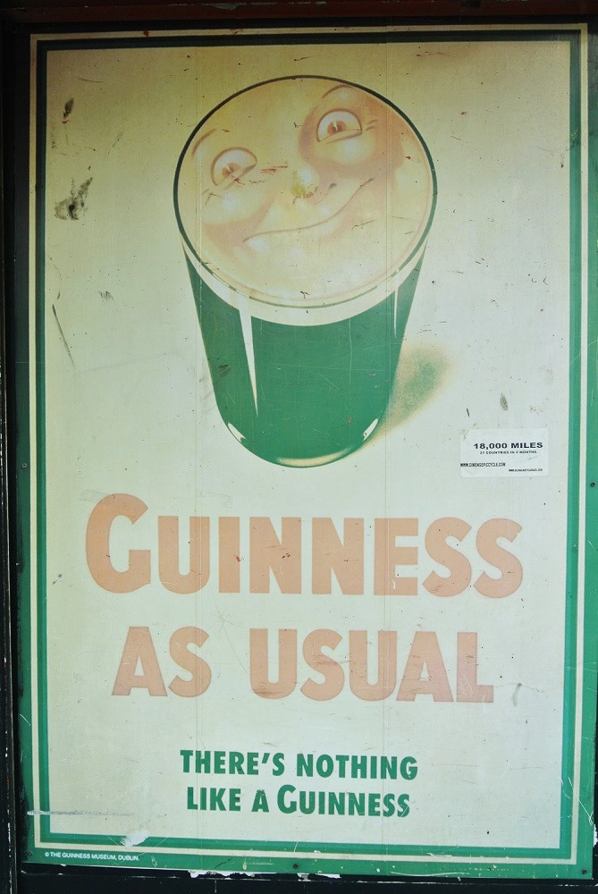 Guiness as usual - Dublin